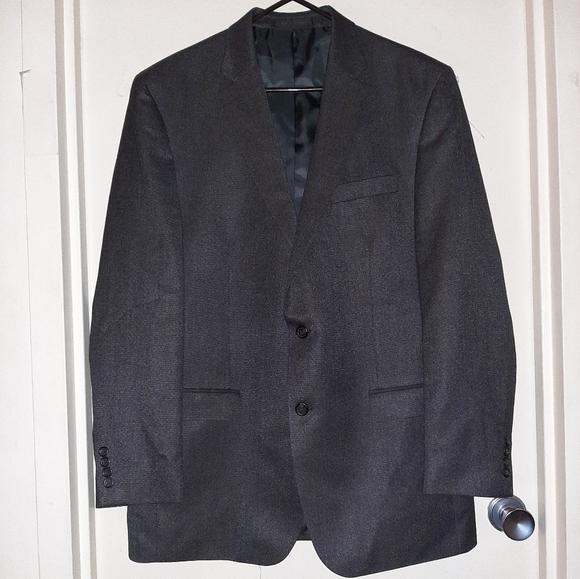 Chaps Other - Chaps 2 Button Blazer Grayish Black Men's 44L EUC